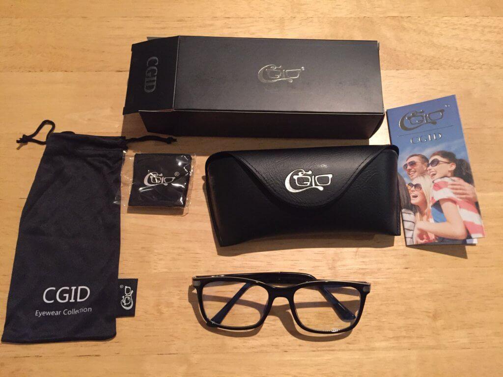 ブルーライトカットメガネ「CGID C46 TR90」の内容