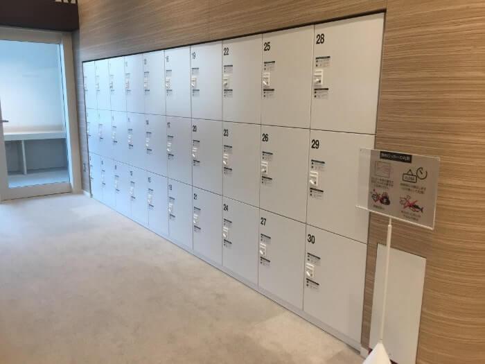 図書館「札幌市図書・情報の館」のコインロッカー