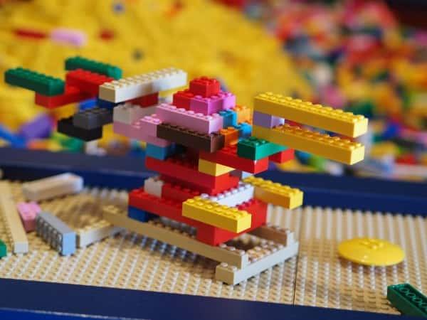 レゴランドで作ったレゴ作品