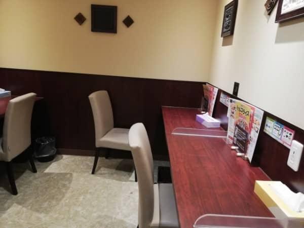 快活クラブ札幌南口店のオープンスペースの様子