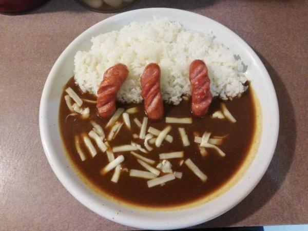 ベガスベガス併設のカレー道楽 札幌店の300円カレー