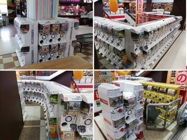 札幌でガチャガチャが多い場所・たくさん置いてある場所