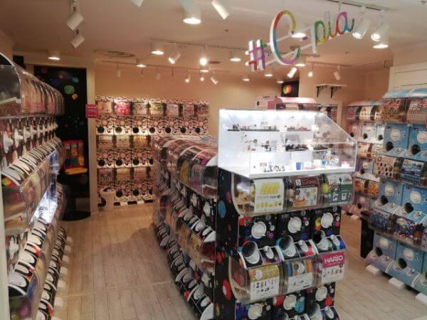 札幌でガチャガチャがたくさん置いてある場所。ガチャガチャが多い場所