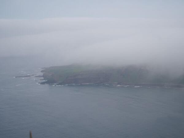 礼文島の景色