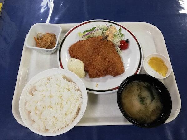 札幌交通局の社員食堂のトクトクランチ