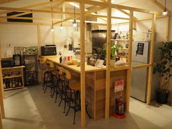 「ushiyado」のキッチン