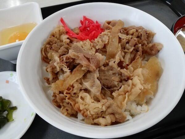 札幌東区役所の食堂