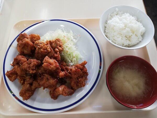 札幌市南区役所の食堂